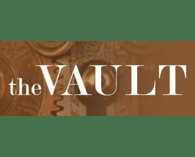 The Vault branding
